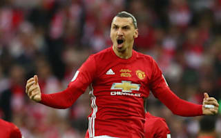 Ibrahimovic hails his predictive powers after sealing EFL Cup triumph