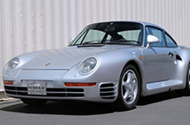 Porsche 959 predicted to fetch a fortune at auction