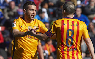 Alba: Barcelona are not machines