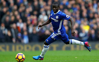 Title run-in totally different with Chelsea, says Kante
