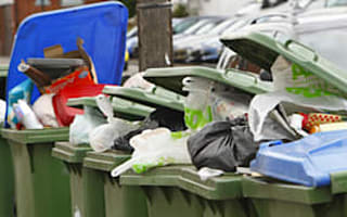 UK councils shrink wheelie bins