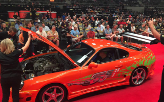 Original Fast &amp&#x3B; Furious Toyota Supra sells for $185,000