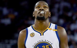 Durant, Warriors crush Thunder