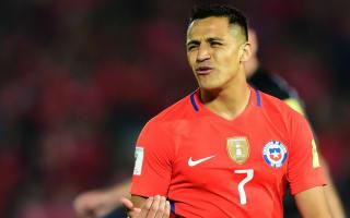 Arsenal star Sanchez injured on Chile duty