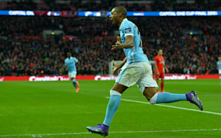 Fernandinho hails 'amazing' spot-kick hero Caballero