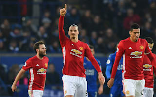 Leicester City 0 Manchester United 3: Ibrahimovic makes history as top-four hopes are rekindled