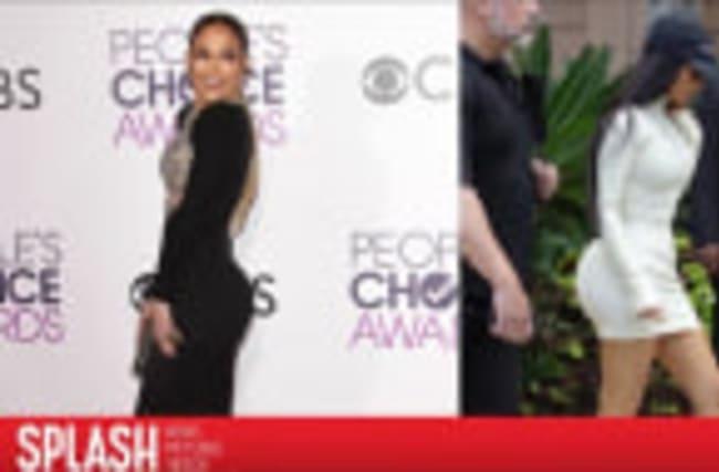 Formal Wear Booty Wars: Jennifer Lopez Vs. Kim Kardashian