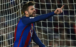 Pique calls for video referees in Spain to boost LaLiga standards