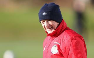 Strachan positive despite growing pressure