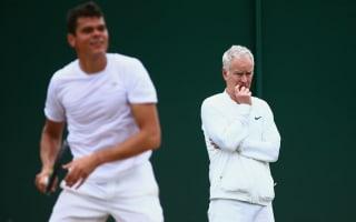 McEnroe calls time on Raonic role