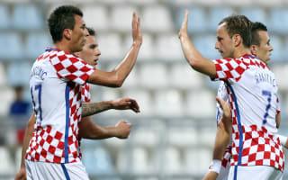 Mandzukic hat-trick paves the way for historic Croatia romp over Kosovo