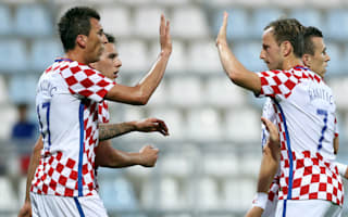 Mandzukic hat-trick paves the way for historic Croatia romp over Kosovo