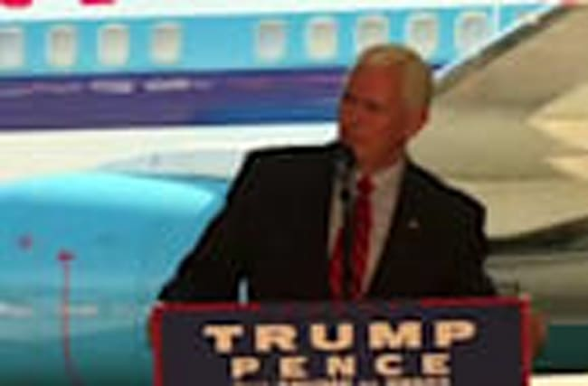 "Pence: ""Let's go get it done, Ohio"""