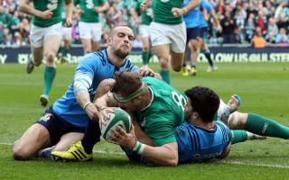 Ireland regain confidence with Italy thrashing