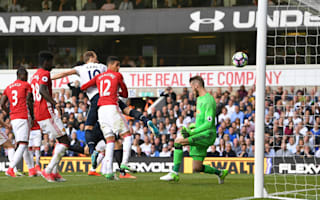 Tottenham 2 Manchester United 1: Wanyama and Kane clinch second spot in final game at White Hart Lane
