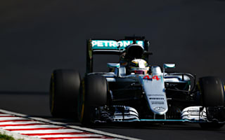 Hamilton overtakes Rosberg with record Hungary win