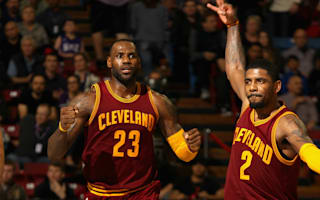 Cavs down Rockets, Spurs drop first game