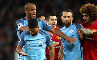 Mourinho: Aguero very smart in Fellaini dismissal