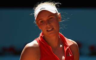 Injury concern for Wozniacki ahead of French Open, Goerges through in Nurnberg