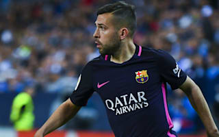 Alba frustrated but commits future to Barcelona