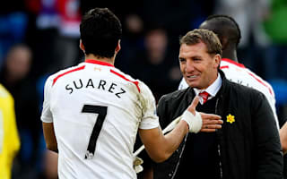 Rodgers hails 'best in the world' Suarez