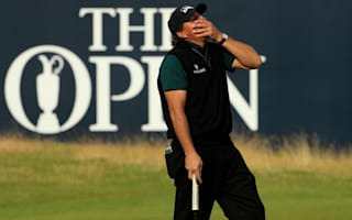 Mickelson three clear despite 62 agony