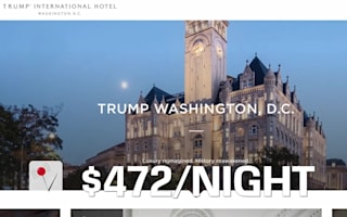 Donald Trump's DC hotel gets the thumbs down