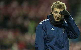 Bendtner excluded from training as Wolfsburg exit looks likely