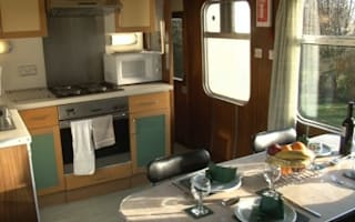 Grand designs: train carriages transformed into holiday homes