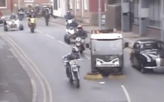 Group of dangerous bikers sought after wreaking havoc in Nottingham