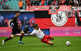 RB Leipzig 1 Bayer Leverkusen 0: Poulsen late show maintains Leipzig charge