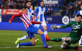 Atletico Madrid 2 Leganes 0: Two-goal Torres justifies Simeone selection