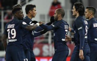 Paris Saint-Germain were not pleasant to watch, admits Emery
