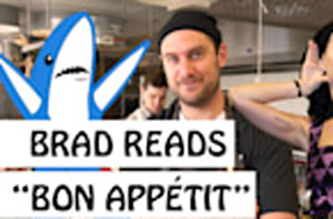 "Brad Reads ""Bon Appétit"" by Katy Perry"
