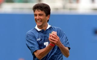 Son who inspired iconic Bebeto celebration signed by Sporting
