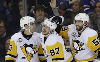 Penguins destroy Rangers, Devils stay unbeaten at home