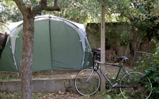 Airbnb host lists tent in his garden for £700 a month