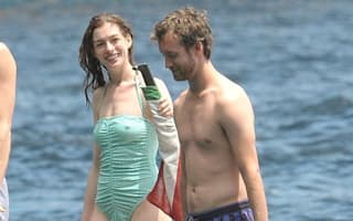 Yacht spot! Anne Hathaway enjoys luxury holiday in Capri