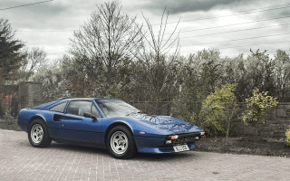 A Rare Ferrari 308 GTS QV with a V12 engine is up for auction