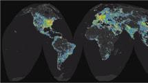 Hier kommt die erste Weltkarte der Lichtverschmutzung