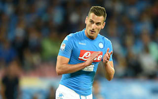 Napoli hopeful of January return for Milik