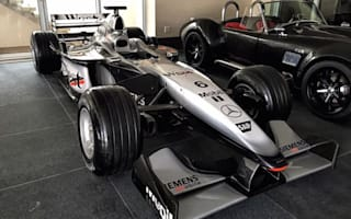 Incredible McLaren Formula One car goes on sale on eBay