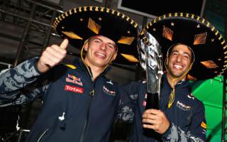 Horner delighted with Ricciardo-Verstappen relationship