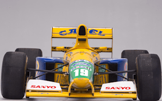 Michael Schumacher F1 car heads to auction in Monaco