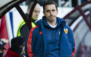La Liga review: Neville still waits for first league win as Atleti go top