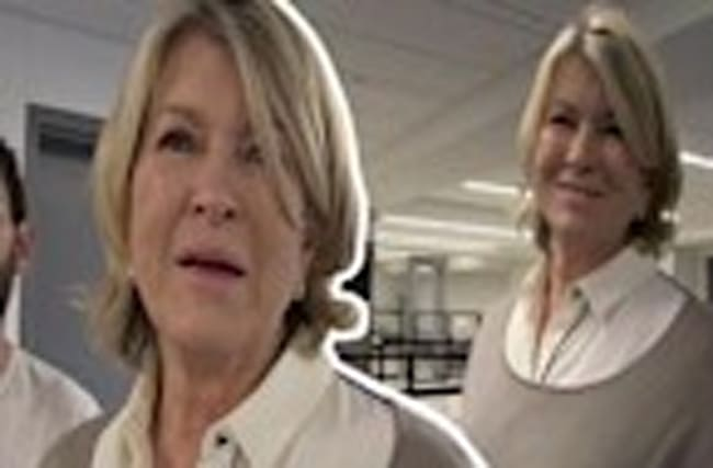 Martha Stewart Enjoys Sexting