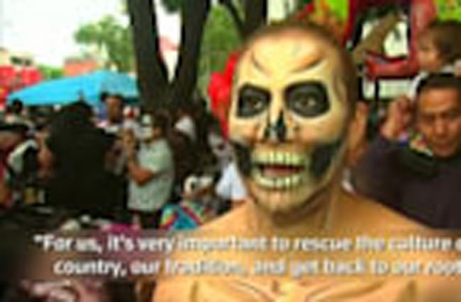 Mexico kicks off Day of the Dead celebrations