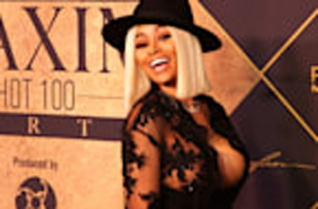 Blac Chyna Stuns at Maxim Hot 100 Party Less Than 24 Hours After Car Crash