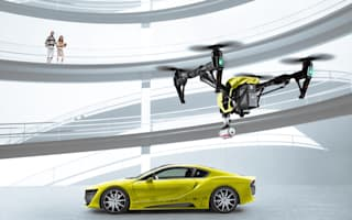 Meet the madcap Rinspeed Etos: an autonomous car with its own drone