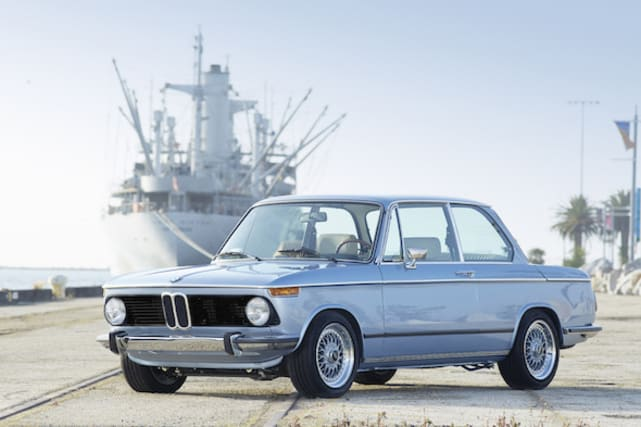 Fully restored BMW 2002 is showcased in America